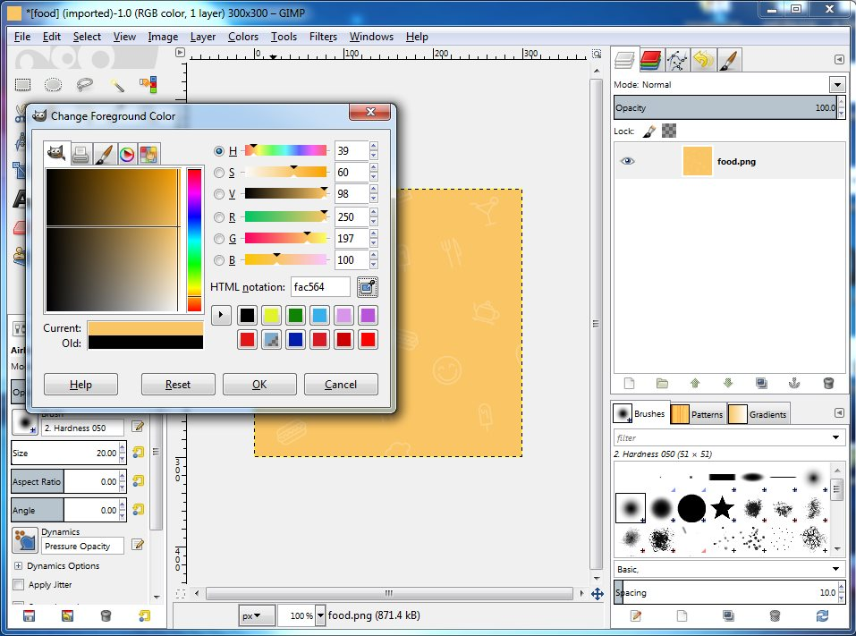 Image Result For Gimp Get Color Code
